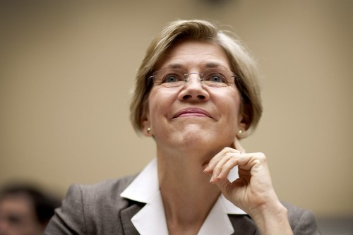 "Warren to nab powerful committee seat?  According to several Senate sources, Senator-elect and populist hero Elizabeth Warren has a good chance of getting a seat on the powerful Senate Banking Committee. This is a logical fit for Warren, architect of the Consumer Financial Protection Bureau, and would give her great power in her efforts to curb deceptive and unscrupulous practices on the part of financial institutions. ""[G]iven her prominent work on those issues, she would certainly have a very good shot"" at getting a spot on the committee, an aide tells Reuters. Having Warren on Banking is essentially the Republicans' worst nightmare, but it's worth noting that it's a nightmare entirely of their own short-sited construction. source"