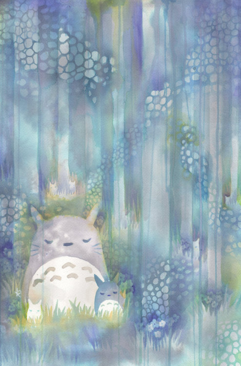 danceabletragedy:  Totoro by QueenofCuriosity