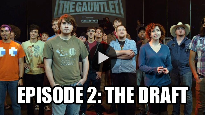 On this week's episode of The Gauntlet, the contestants meet each other for the first time and get introduced to a group of 4 Rooster Teeth stars that will become their mentors and coaches during the competition. Unfortunately, there isn't room for all 19 contestants in the newly formed teams. WATCH NOW ON BLIP: The Draft