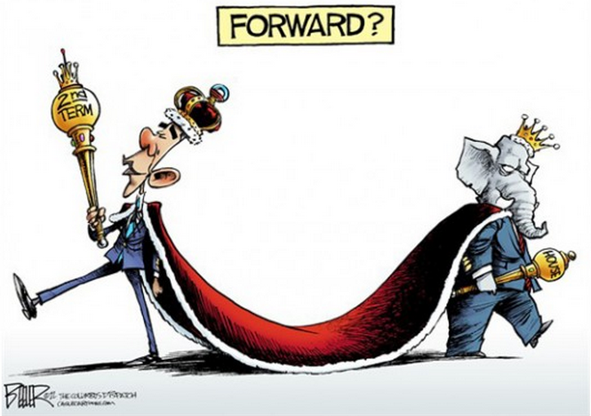 Cartoon of the day — Resentfully tiedNATE BEELER © 2012 Cagle Cartoons More cartoons