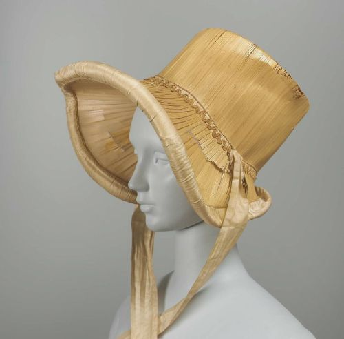 Bonnet, 1817, the Museum of Fine Arts, Boston