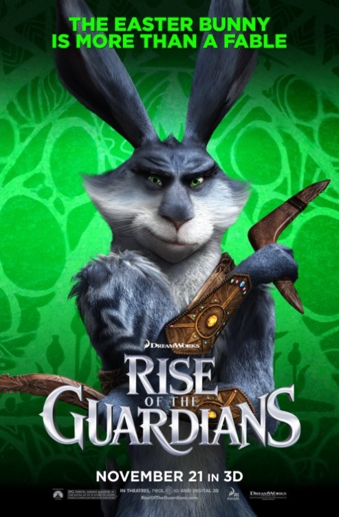 (vía Rise of the Guardians Movie Poster #15 - Internet Movie Poster Awards Gallery)