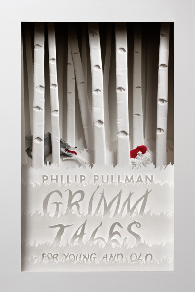explore-blog:  Gorgeous cover for the British edition of Philip Pullman's retelling of the Grimm fairy tales by designer Cheong-ah Hwang.
