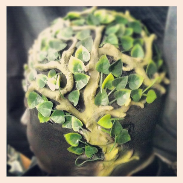 Sculpted Bald Cap #iphoneasia #makeup #special #effects #kitty
