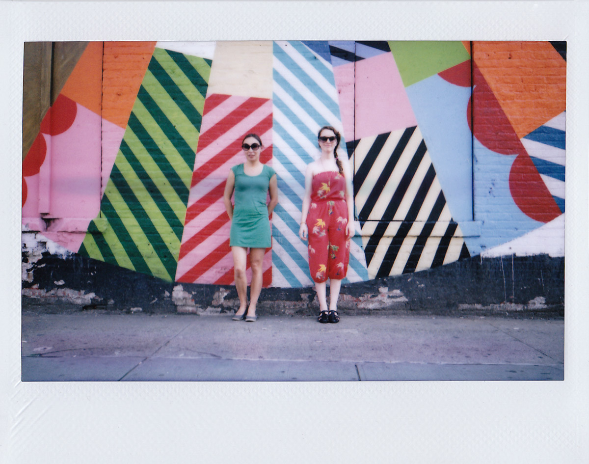 tylersharpphoto:  Lisa Weatherbee & Lauren Randolph are full of color, and life. New York, NY.  Nope. I'm not ready for winter Quite yet. Going to keep going through photos from this year's epic summer adventures.