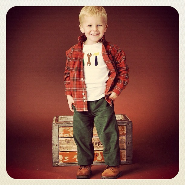 Autumn cutie is ready for the #weekend! (at Zulily)