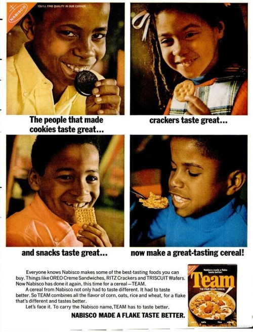 vintageblackads: TEAM. November, 1970.