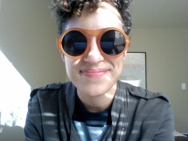 Guys did I find the best sunglasses or what say yes? EDIT: youswiminmywater just sent me this and I laughed really hard.
