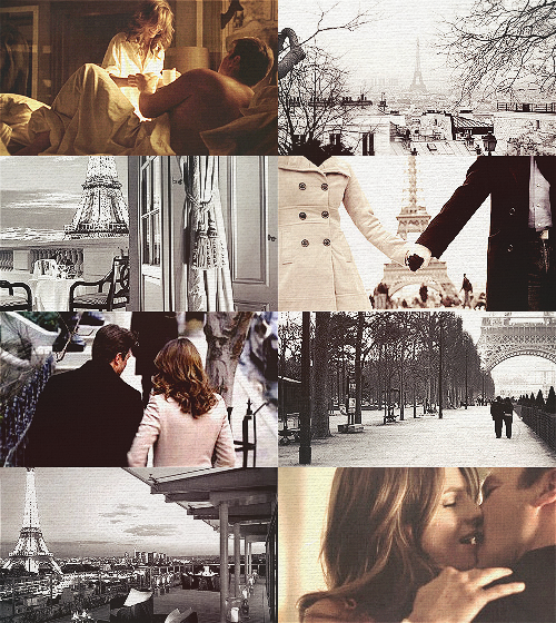Castle AU Scenario Castle and Beckett honeymoon in Paris.