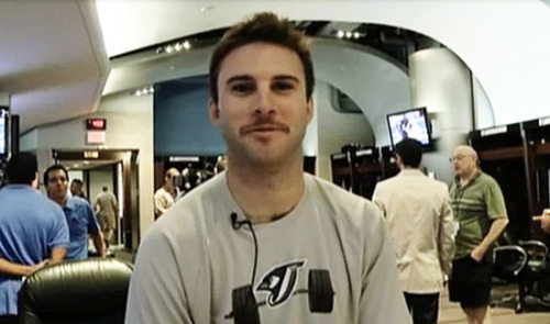 Hey. remember when Brandon Morrow had a very short-lived moustache? Oh, those were the days.