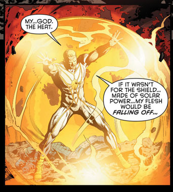 - Stormwatch #14 I know Milligan can write great stories if he just stop making characters describe their actions like in a 70s comic book…