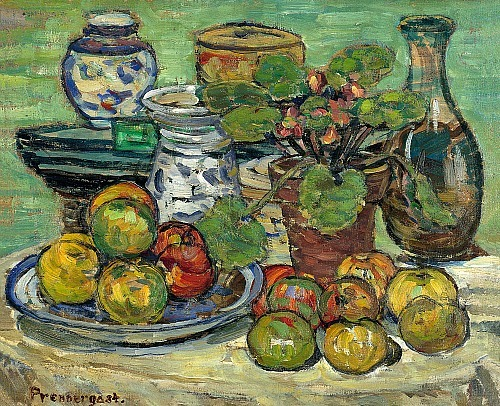 Maurice Prendergast Still Life with Apples 1910-13