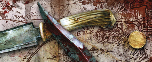 "xaraan:  REVIEW: 'Red Country' by Joe Abercrombie  They burned her home. They stole her brother and sister.But vengeance is following.  Shy South hoped to bury her bloody past and ride away smiling, but she'll have to sharpen up some bad old ways to get her family back, and she's not a woman to flinch from what needs doing…      She sets off in pursuit with only a pair of oxen and her cowardly old stepfather Lamb for company.  But it turns out Lamb's buried a bloody past of his own, and out in the lawless Far Country, the past never stays buried.   Their journey will take them across the barren plains to a frontier town gripped by gold fever, through feud, duel and massacre, high into the unmapped mountains to a reckoning with the Ghosts.  Even worse, it will force them into alliance with Nicomo Cosca, infamous soldier of fortune, and his feckless lawyer Temple, two men no one should ever have to trust…"" Read More"