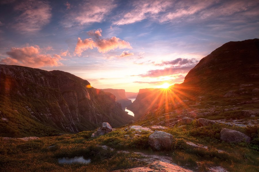 Gros Morne National Park in Newfoundland, Canada