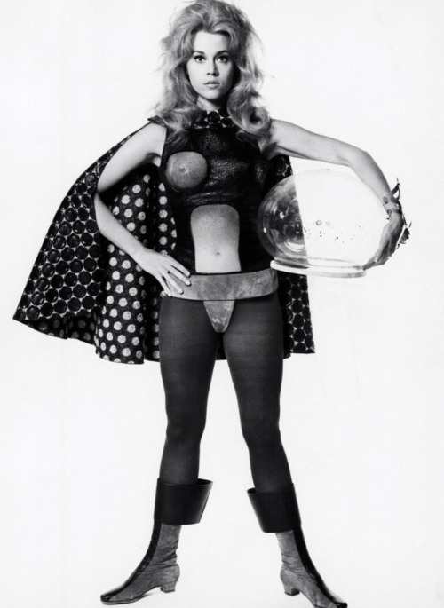 lynxolita:  Jane Fonda as Barbarella
