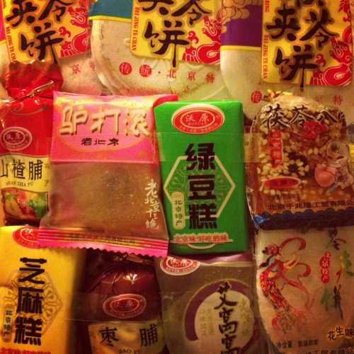 Chinese snacks.