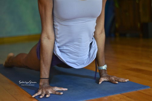 """Upward-Facing Dog"" ~ Urdhva Mukha Svanasana {Image taken of Ashtanga Yoga Instructor, Shakira Williams, in Kingston, Jamaica, during a practice}"