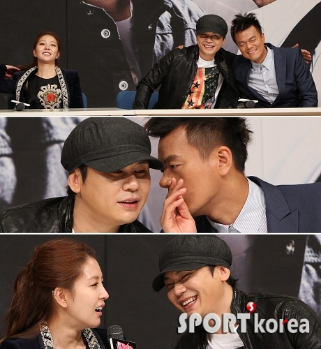 Why did BoA yell at Yang Hyun Suk and J.Y. Park?  I detect some YG x JYP bromance! - P.