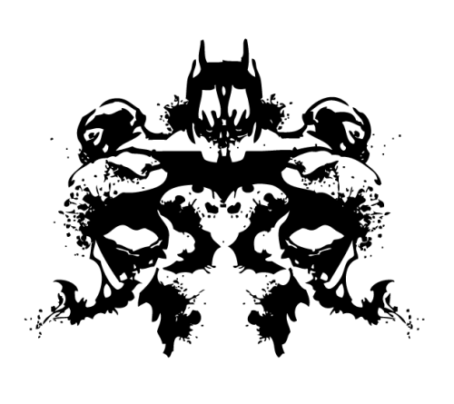 Dark Knight Rises Inkblot by ~TTart7
