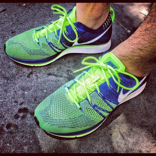 It's a #nike #flyknit #trainer #sprite kinda day. #solematesmelb