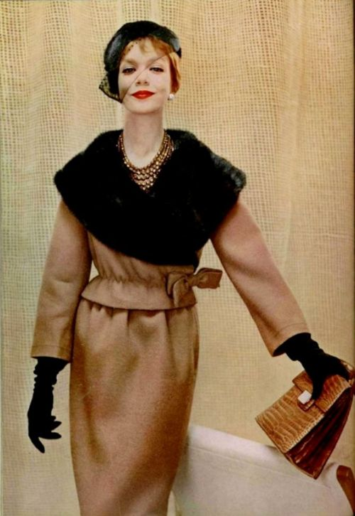 Lanvin Castillo Outfit - 1958 L'Officiel De La Mode No. 437-438