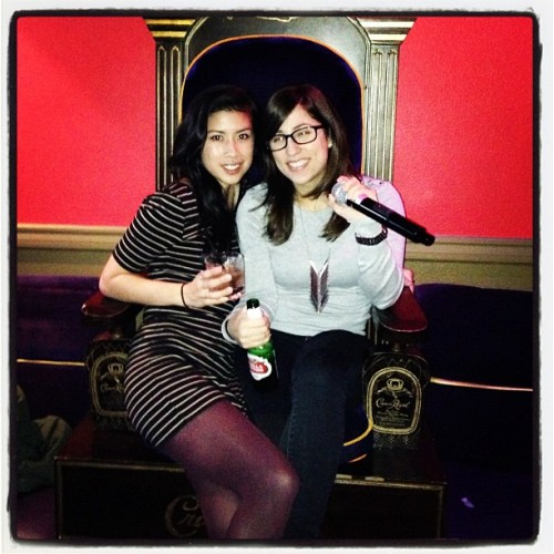 Karaoke for @gerardveronica birthday!!! ❤ You vero!!! @_leanna