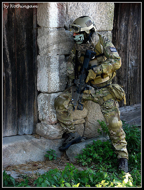 Multicam Airsoft by rajadaboom on Flickr.