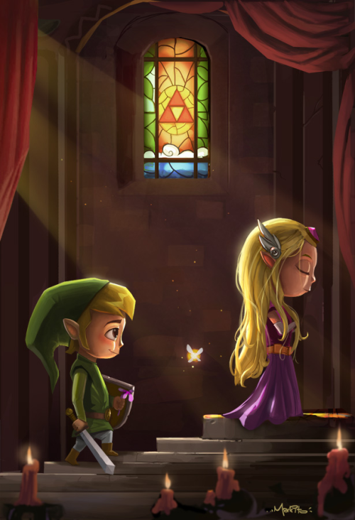 zelink-fans:  Zelda Tribute by Mark-Ito