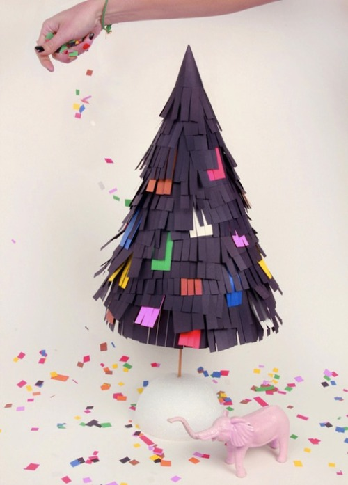 DIY Tree Pinata by Anthology Mag