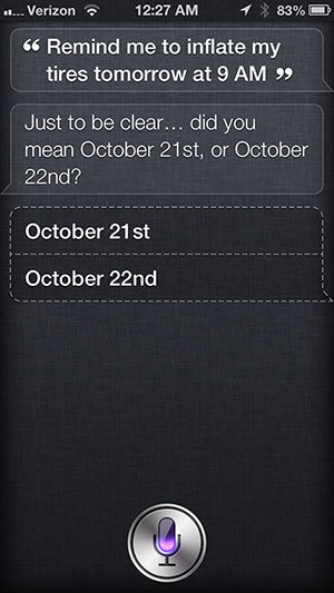 "Siri - Confirms what ""tomorrow"" means, when it is mentioned close to midnight/via bosky - source"