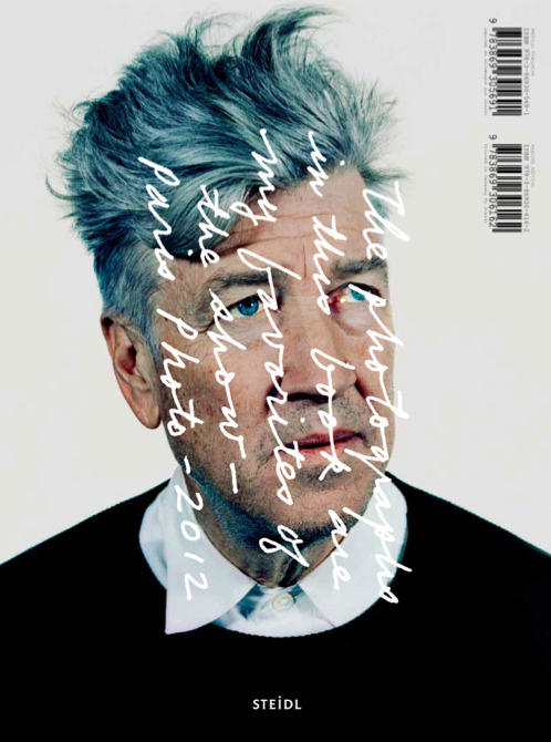 "Paris Photo 2012 featuring David Lynch (+)  Vu Par David Lynch For the first time, Paris Photo puts in place an original journey within the galleries: ""Paris Photo vu par…"", which will be entrusted to a different personality each year. In 2012, it is David Lynch that the Fair entrusts with the task of choosing from among the works exhibited by the gallery owners. The resulting journey of that selection will be identified in the Fair and a book will be published by Steidl. An original way for the public to contemplate the works whilst at the same time discovering David Lynch's aesthetic universe. A portfolio of the 99 photographs selected is on view on our Mobile Application. The book is sold out.  //  enicoleh:graphicporn"
