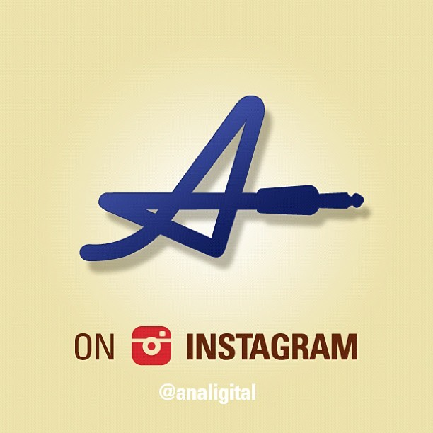 Analigital is now on Instagram @analigital  #analigital #instagram #logo #graphicdesign