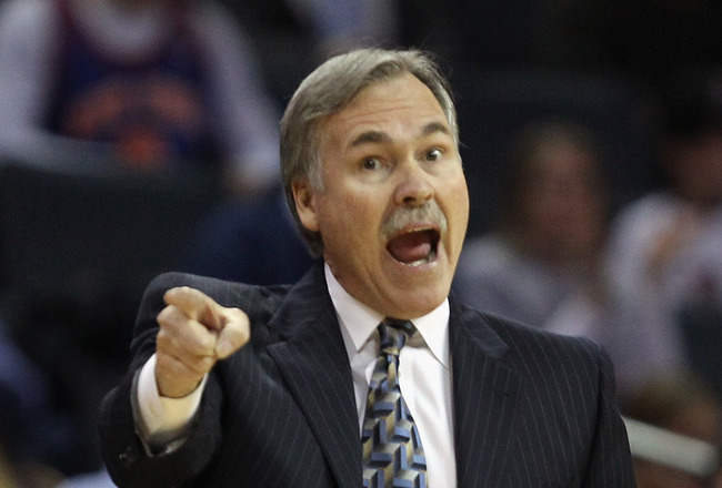 """Coach D'antoni we were wondering if you would —"" I'LL TAKE IT! ""…find some where more appropriate to sleep tonight, sir. You can't lay down in the middle of Mr. Buss's driveway."""