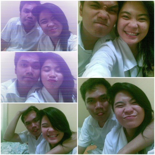 "110712 :"">The best girl gave me the best birthday of my life! — With Ria Alday*Lame Phone Cam"