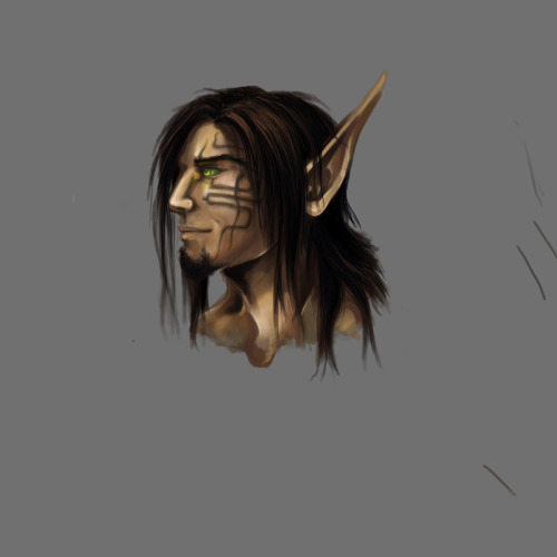 doccjekyll:  More of Antonik; I need to redo his face tattoo here.