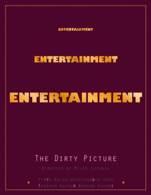 The Dirty Picture [2011] by Heramb Sukhathankar