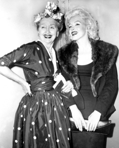 Hedda Hopper and Marilyn