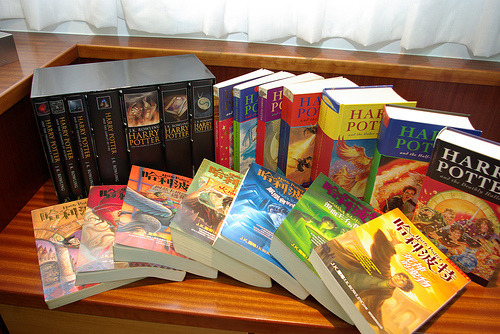 harrypotterconfessions:  These books, helped me. They are my security blanket and whenever my life is getting too much or school is stressing me out, I start all over again and lose myself to the places, characters and events that where there when no one else was.
