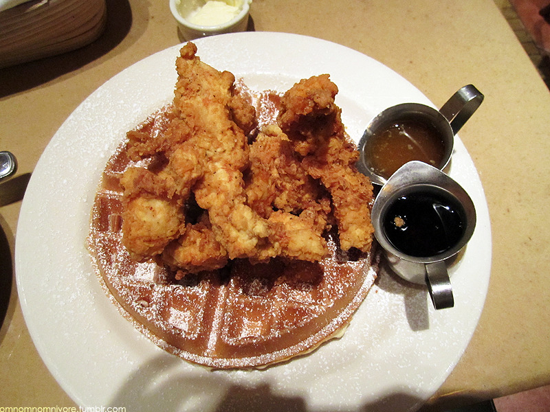 Chicken waffles! I love it <3 @ Bouchon, Venetian in Las Vegas