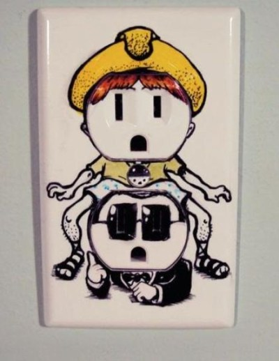 LOL! Gangnam Style Power Outlet