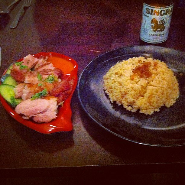 #hainan #chicken #rice #australia #restaurant #food #melbourne http://instagr.am/p/R1-wARIK5I/