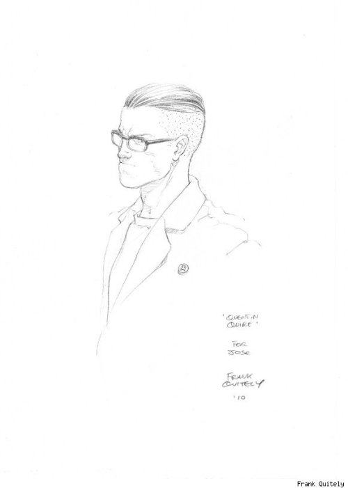 browsethestacks:  Quentin Quire by Frank Quitely