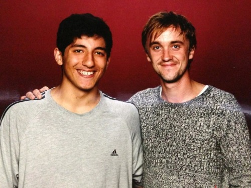 So I met Tom Felton today….