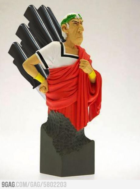 colinodonoghued:  obsessedwiththeworld:  9gag:  Caesar Knife Set  OH MY GOD.