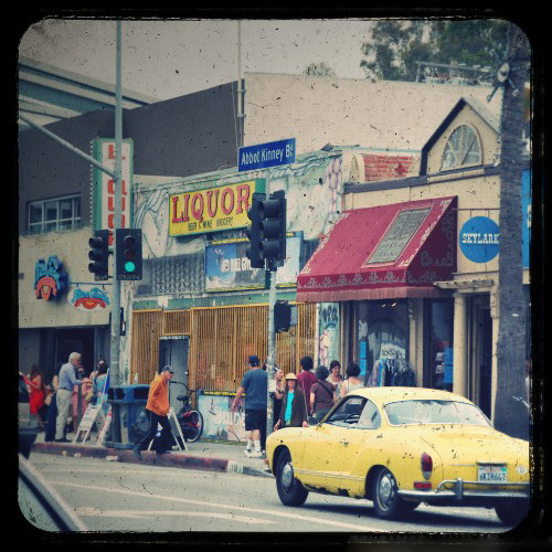la-susan:  Abott Kinney, Venice, CA - 2011 By Susan  One of my best city!