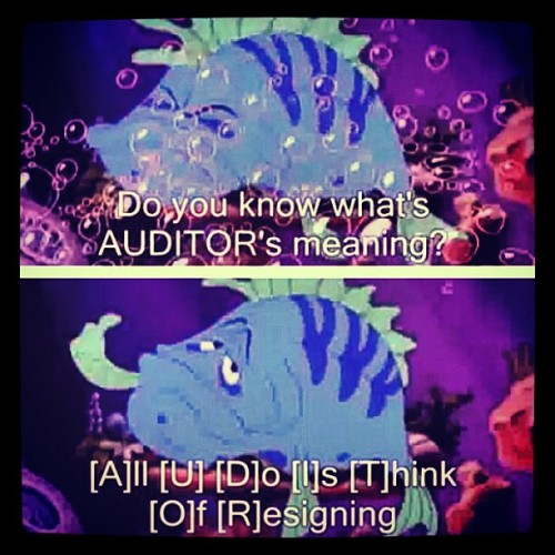 bubblyjan:  Hahaha! So now I know what it actually meant. Pfft! #auditor