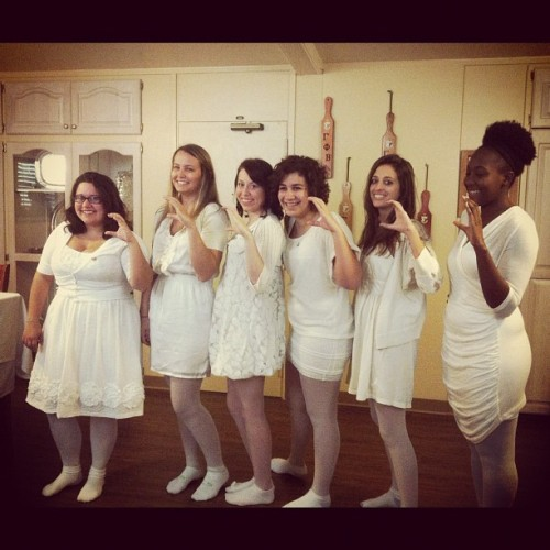 hotmestas:  Baby gammas just initiated #gammaphibeta #sorority