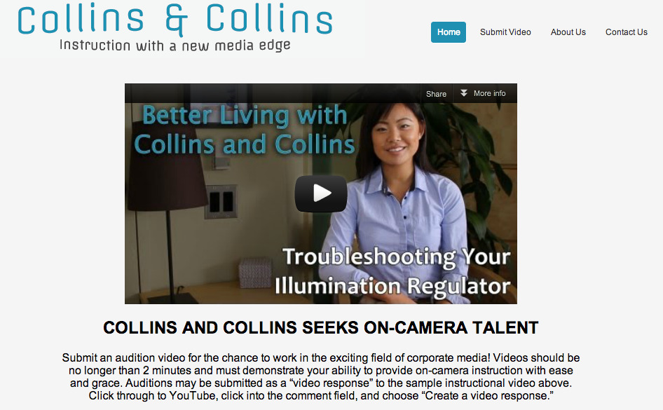 I can't believe I made it to the front page of the Collins and Collins website! Thank you Charlotte and Mr. Collins for the incredible internship experience!