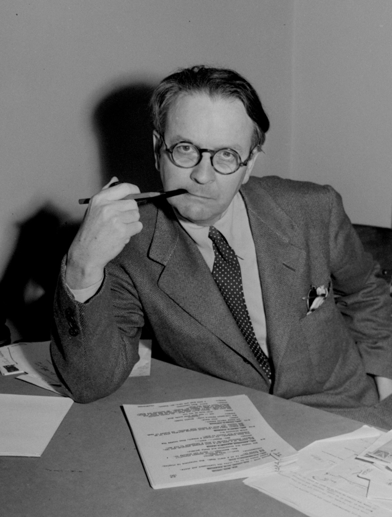 Raymond Chandler's poetry