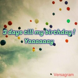 Created with the awesome @Versagram App! #versagram #versalove 3 DAYS TO GO